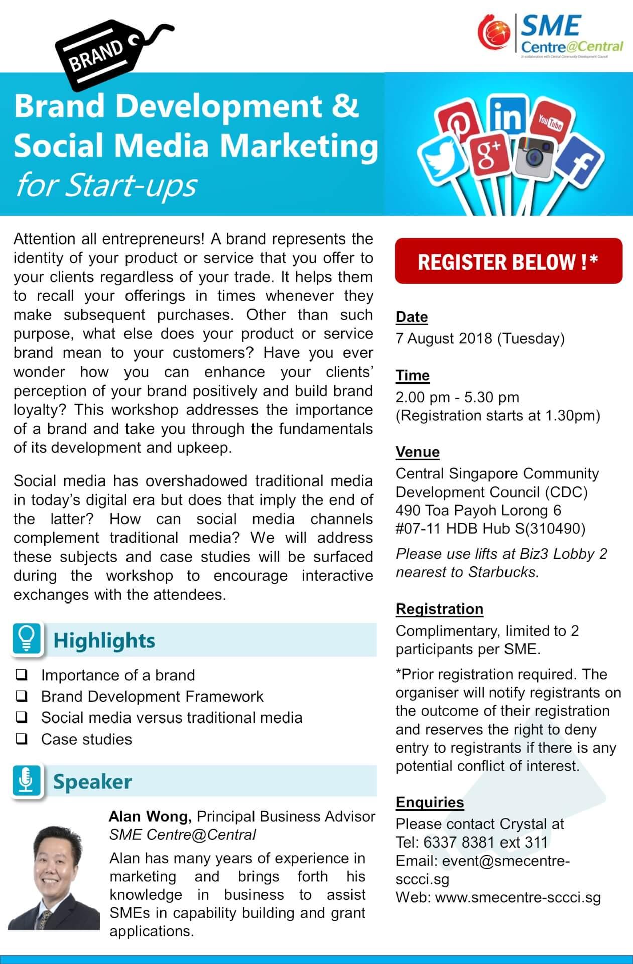 Branding Workshop for Startups
