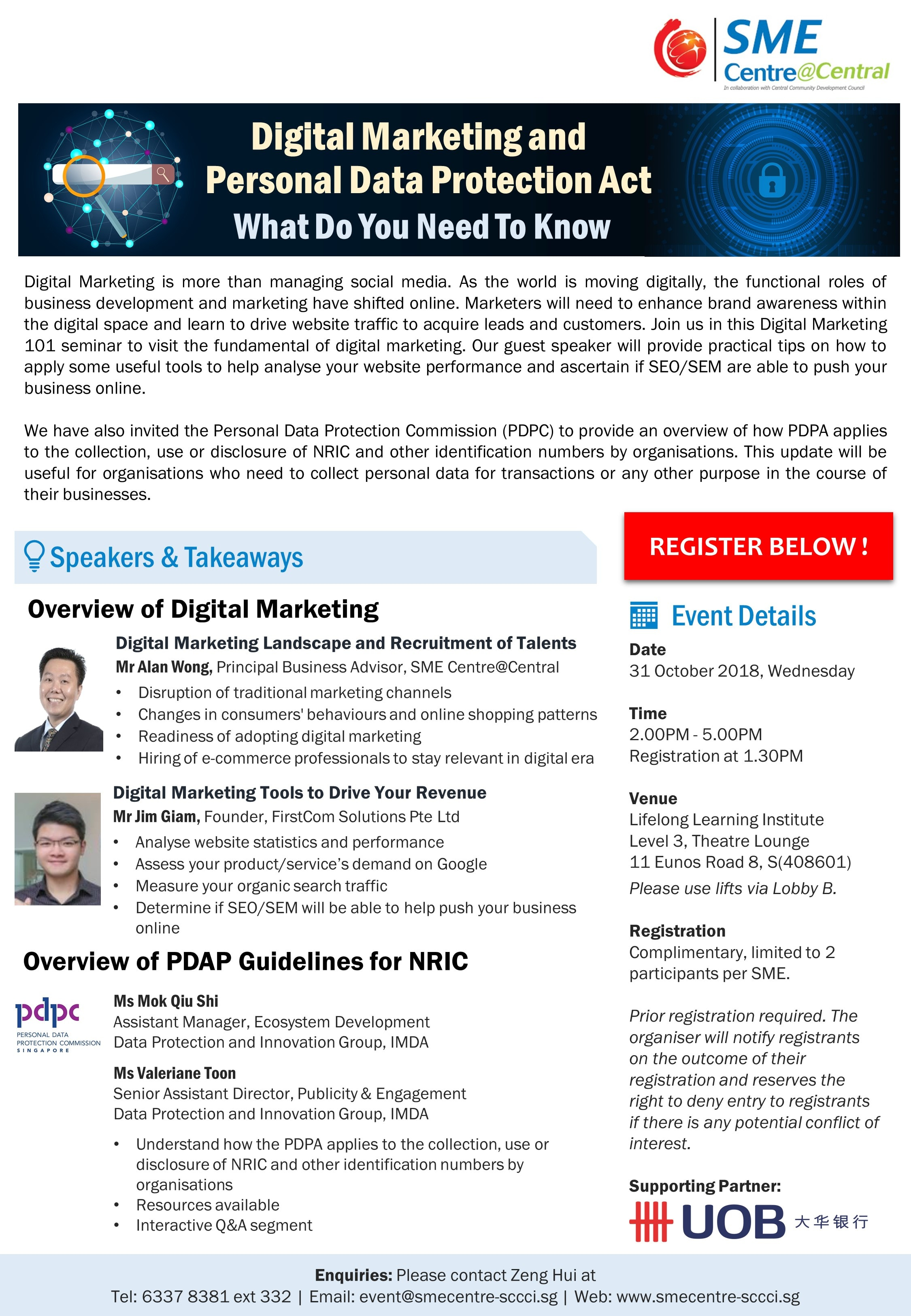 Digital Marketing and PDPA Workshop